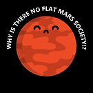 Flat Mars T-Shirt by perdita00