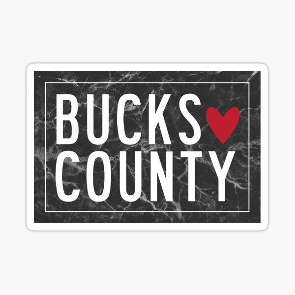 BUCKS COUNTY Sticker
