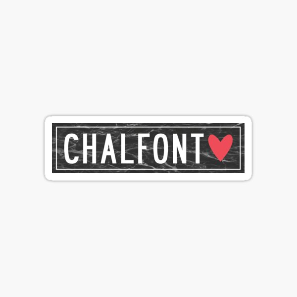 CHALFONT Sticker