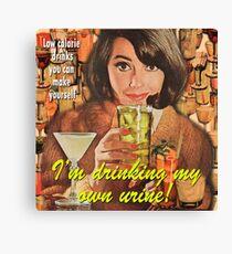 Women's Magazine Parody #1 Canvas Print