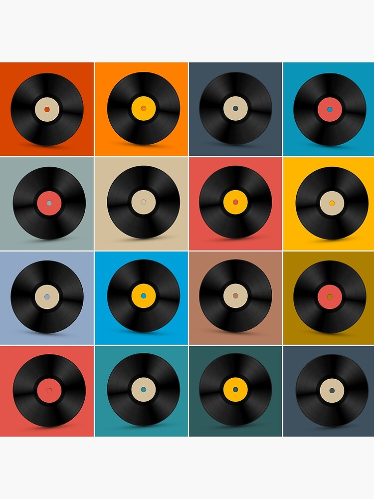 Album,Vinyl Record,Music Poster by BokeeLee