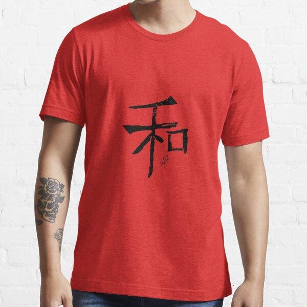 Peace - Black Essential T-Shirt
