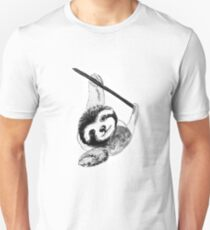 Sloth - Ink Painting T-Shirt