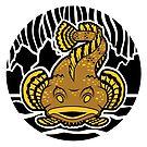 Oyster Toadfish von Britt Sorensen