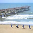 Surfside Pier, Surfside Beach, SC by Dawne Dunton