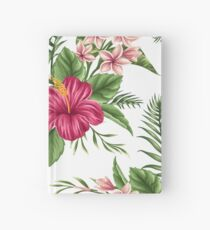 Tropical Flowers 2 Hardcover Journal