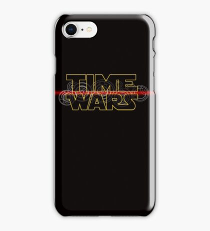 Time Wars  iPhone Case/Skin