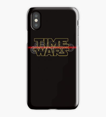 Time Wars  iPhone Case/Skin