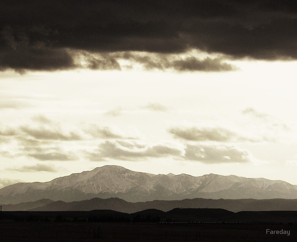 Pikes Peak Layered by Fareday