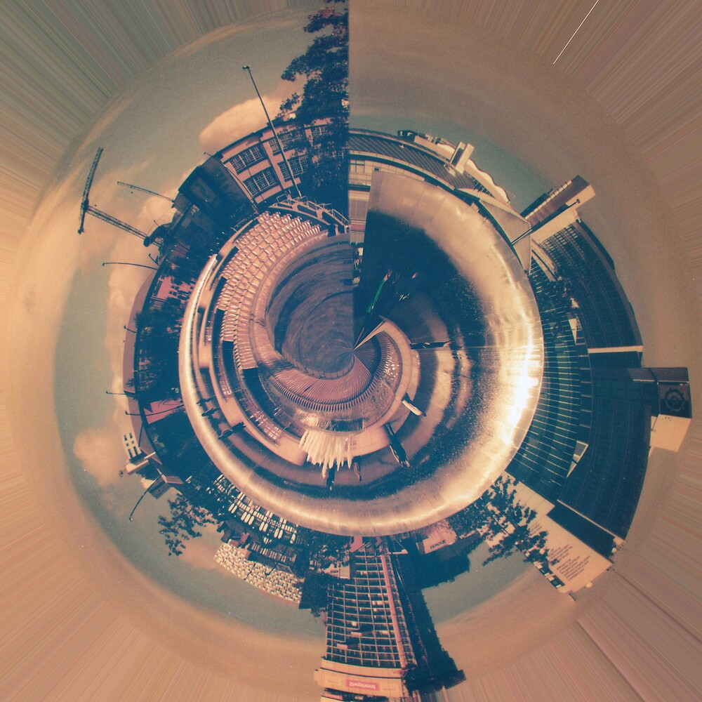 Gateway To Sheffield Planet Panorama by Nathan Walker