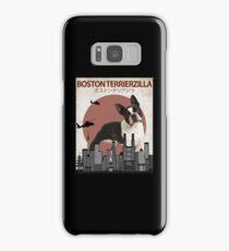 Boston Terrierzilla - Giant Boston Terrier Monster Samsung Galaxy Case/Skin