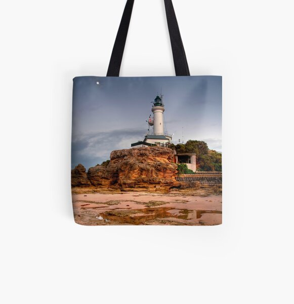 Point Lonsdale Lighthouse, Victoria All Over Print Tote Bag