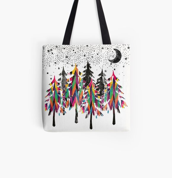 Black forest All Over Print Tote Bag
