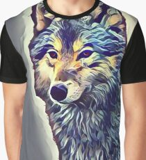 The Tundra Wolf Graphic T-Shirt