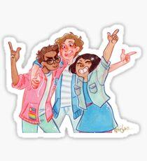 BMC - Jeremy, Michael und Christine Sticker
