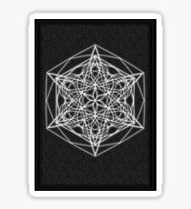 Star Mandala On Pattern Sticker