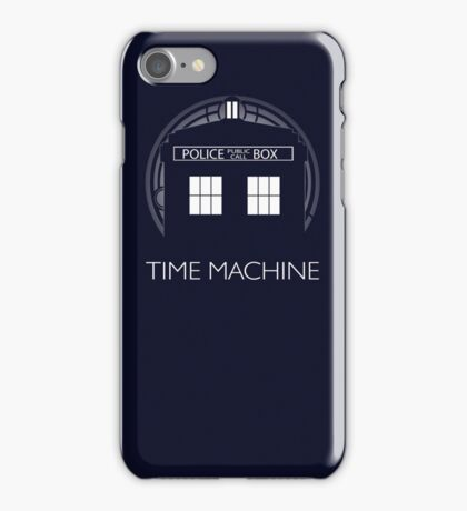 TIME MACHINE iPhone Case/Skin