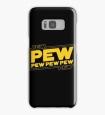Star Wars Pew Pew! Samsung Galaxy Case/Skin