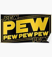 Star Wars Pew Pew! Poster