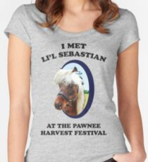 Li'l Sebastian Women's Fitted Scoop T-Shirt