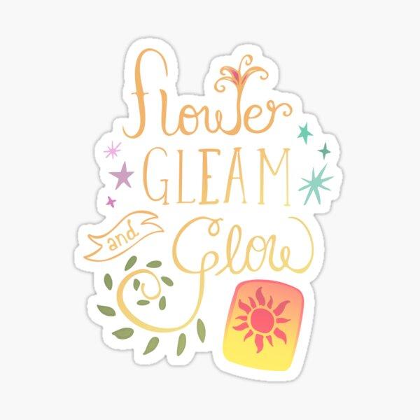 Flower gleam Sticker