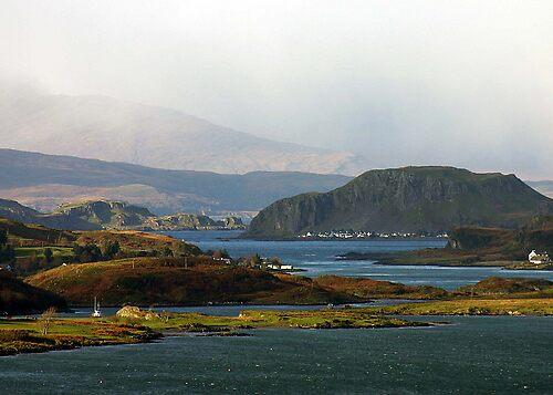 Scottish Highlands meets civilisation by AA Fer