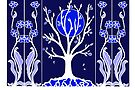 Blue Moon - Tree by Linda Callaghan