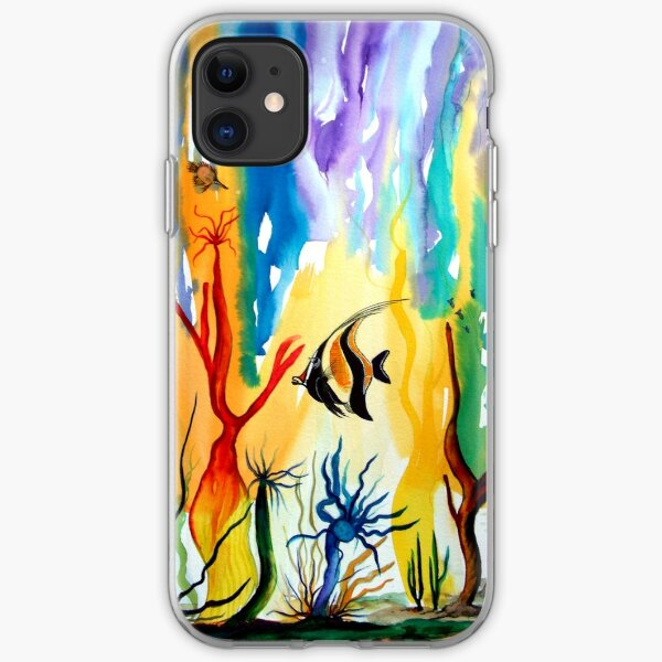 Colours of the Sea iPhone Soft Case