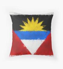 Antigua And Barbuda Flag Reworked No. 66, Series 5 Kissen