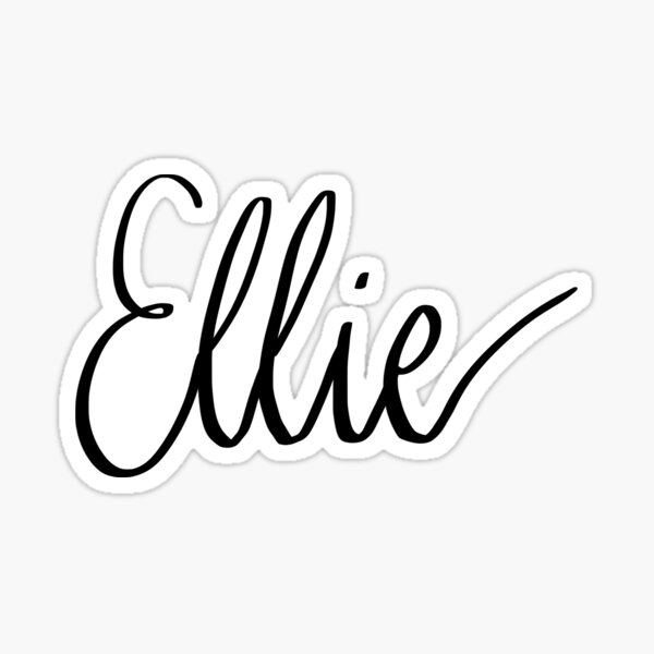 Ellie Sticker