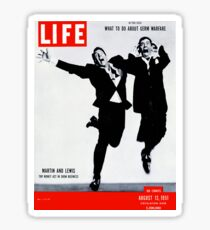 Martin and Lewis explode Sticker