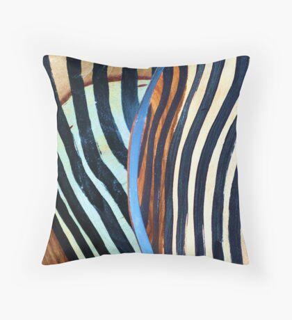 African fantasy Throw Pillow