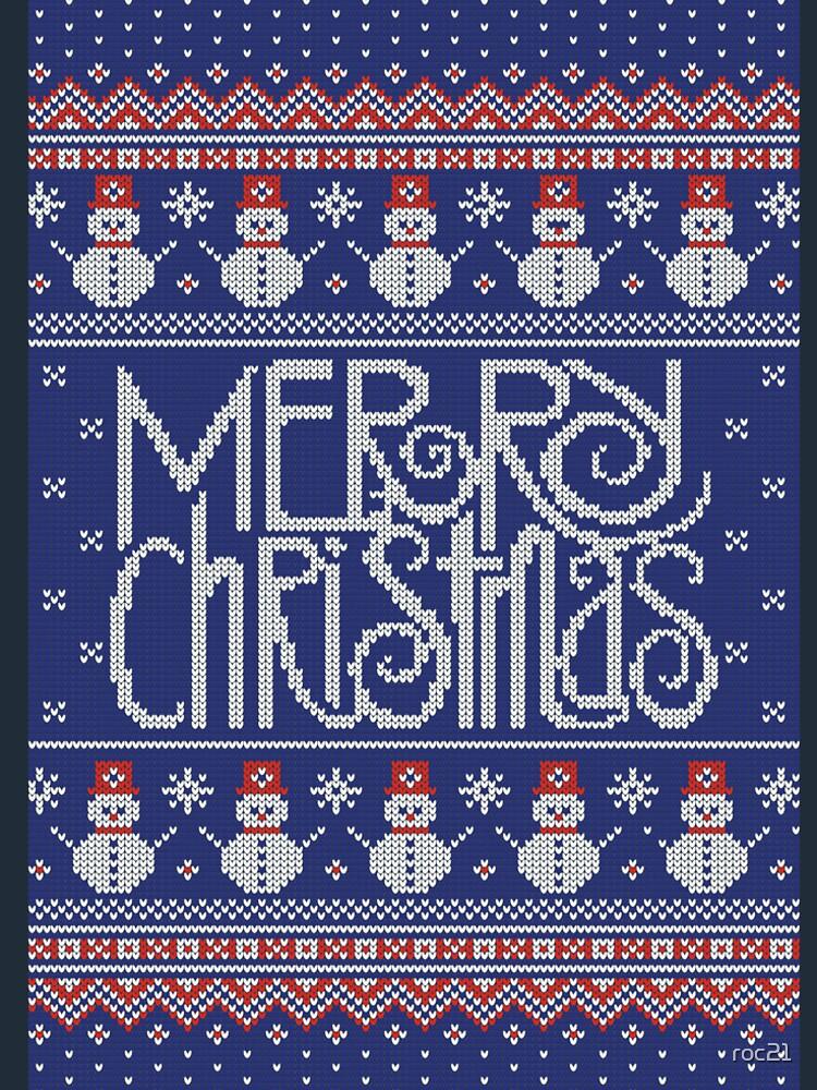 Merry Christmas from Snowman de roc21