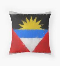 Antigua And Barbuda Flag Reworked No. 66, Series 3 Kissen