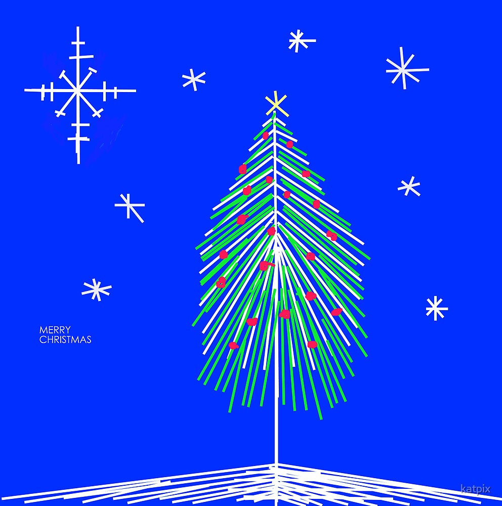 Christmas tree by katpix