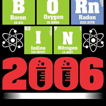 Science Birthday Shirts for Ages 11 by WarmfeelApparel
