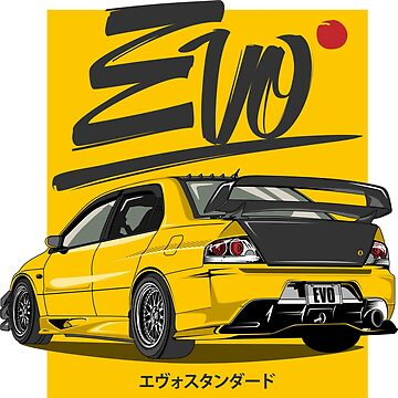 New EVO-Yellow!!! by melsmoon