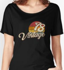 Vintage 1978  Women's Relaxed Fit T-Shirt