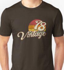 Jahrgang 1978 Slim Fit T-Shirt