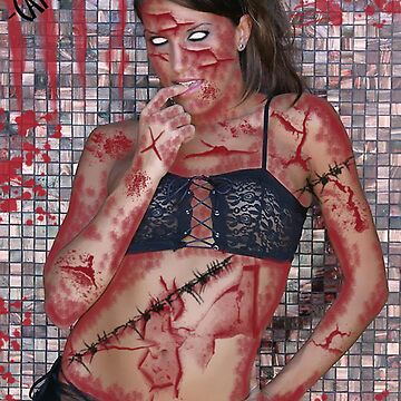 "MODEL CANDICE MARIE-""ZOMBIE"" by artsinister"