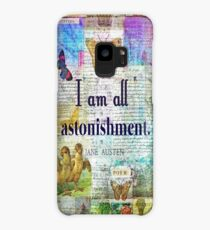 Jane Austen Pride and Prejudice Quote Case/Skin for Samsung Galaxy
