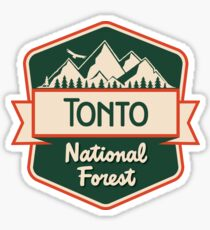 Tonto National Forest Sticker
