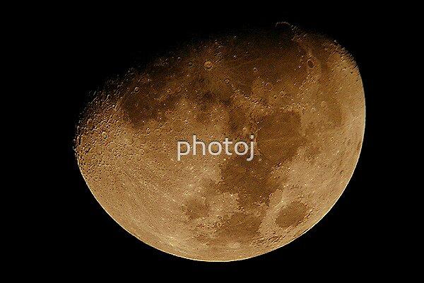 photoj Moon by photoj