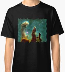 NASA Pillars of creation Eagle Nebula Classic T-Shirt