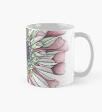 Salmon Zinnia in Full Floral Splendor Mug