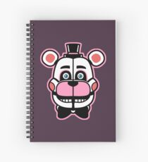 FUNTIME FRED Spiral Notebook