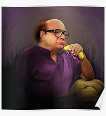 Frank Reynolds with Banana Poster