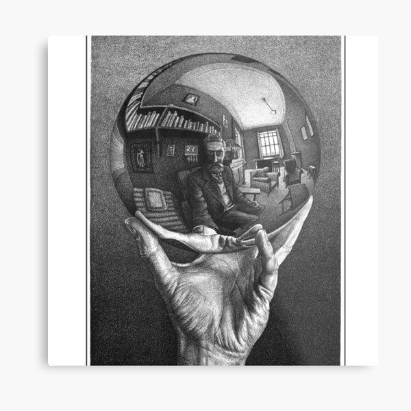 Escher Metal Print