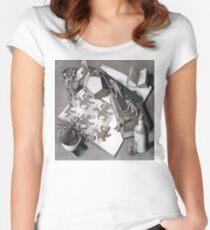 Camiseta entallada de cuello redondo Escher