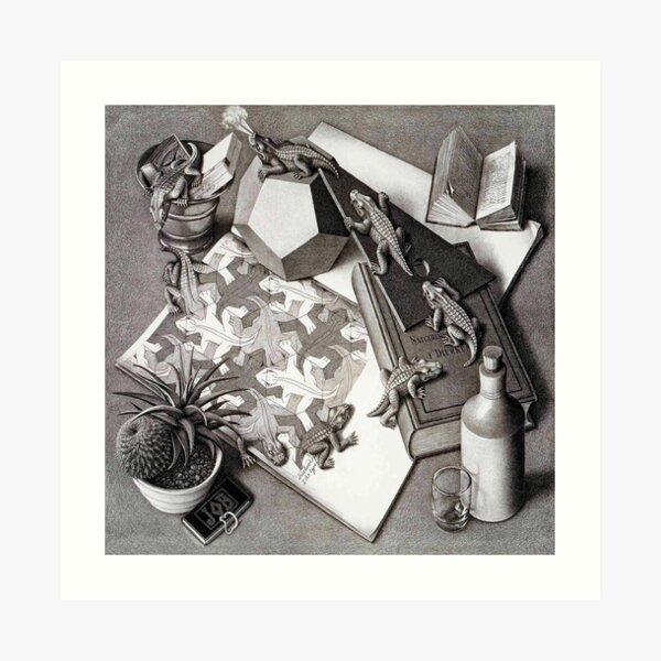 Escher Lámina artística
